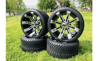 Huskey Golf Cart 12 Inch Wheels/Rims Tires