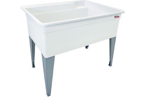 Mustee 28F Bigtub Utilatub Laundry Tub Floor Mount