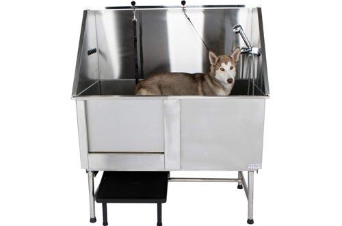 PawBest Stainless Steel Dog Bath Tub