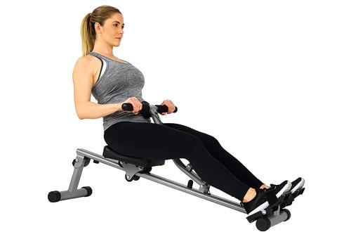Adjustable Resistance Rowing Machine