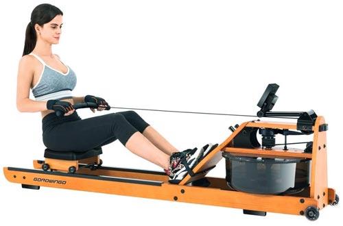 gorowingo Water Rower Rowing Machine