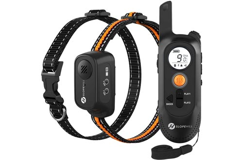 Slopehill Dog Training Collar with Voice Commands