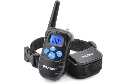 Petrainer Dog Training Collar Rechargeable
