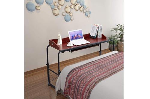 Huisenus Adjustable Bed Table