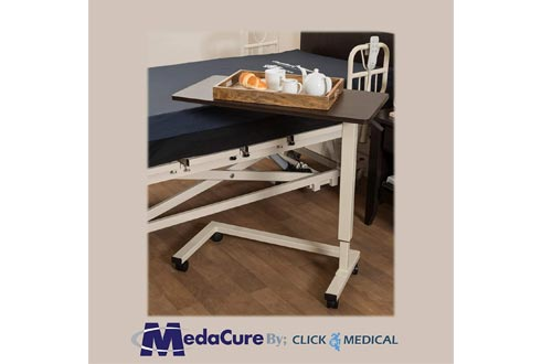 Medacure Overbed Table Hospital Bed