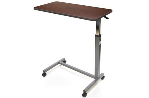Invacare Auto Touch Height Adjustment Overbed Table