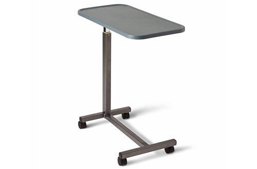 Medline Overbed Bedside Table with Wheels