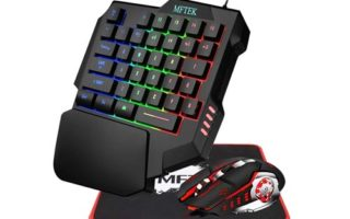 MFTEK One Hand Gaming Keyboard