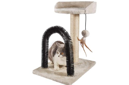 PEEKAB Cat Scratching Post with Cat Tower Tree