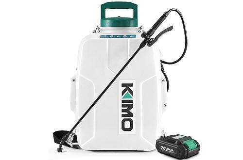 KIMO 3 Gal. 20V Li-Ion Battery Powered Backpack Sprayer
