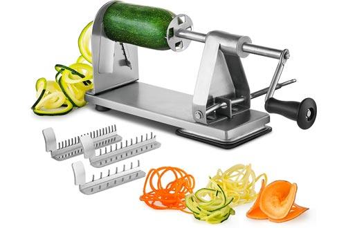 MITBAK Stainless Steel Spiralizer Vegetable Slicer
