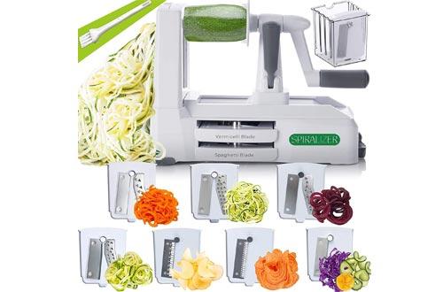Spiralizer 7-Blade Vegetable Slicer, Strongest-and-Heaviest Spiral Slicer