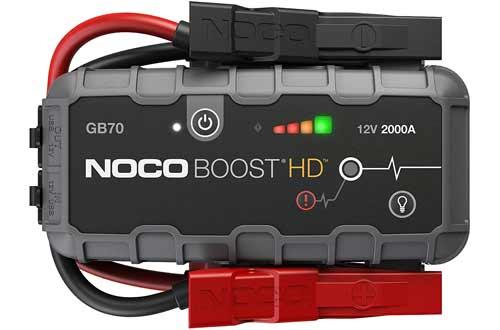 NOCO Boost HD GB70 2000 Amp 12-Volt UltraSafe Portable