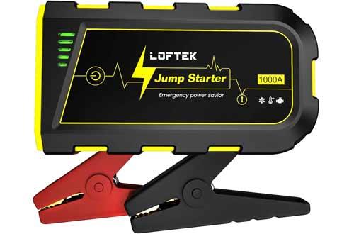 LOFTEK Portable Car Battery Jump Starter