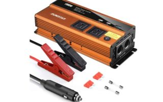 RUN STAR 1000W Power Inverter Car Plug Adapter Outlet