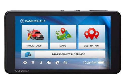 Rand McNally TND 540 LM 5in GPS Truck Navigator with Lifetime Map Updates