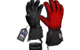Ravean Heated Ski Gloves & Mittens