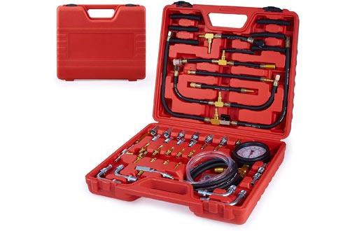 Fuel Pressure Tester, Orion Motor Tech Pro Fuel Injection Pressure Tester Kit