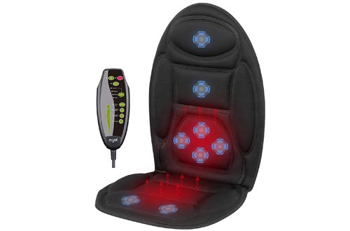 Mynt Vibrating Seat Massager with Dual Heating Area