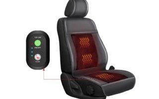 FIVKLEMNZ Seat Cushion, 12V/24V Universal Car Seat Cushion
