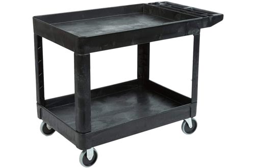 Rubbermaid Commercial Products 2-Shelf Utility/Service Cart