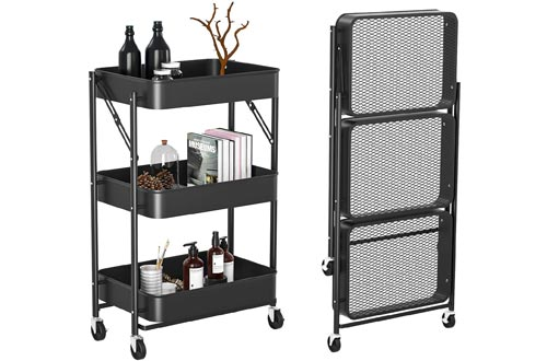 Witacles 3 Tier Rolling Cart
