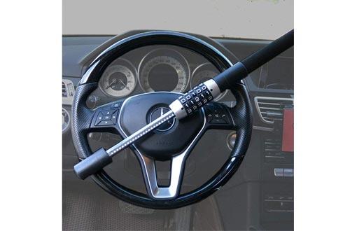 5 Digit Combination Anti-Theft Extendable Double Hook