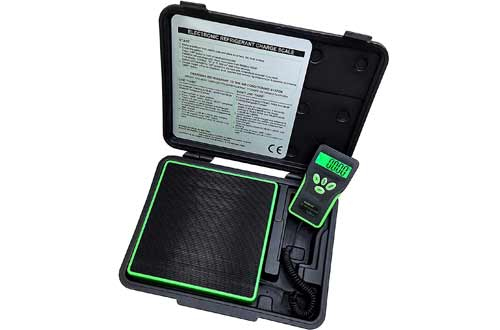 Electronic Charging/Recover Scale, Freon Charging for HVAC/AUTO 220lbs(100kg), with LCD Display and LED Backlight