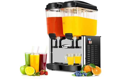 COSTWAY Commercial Beverage Dispenser Machine
