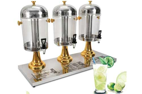 Commercial Cold Juice Dispenser, 8L 3 Tanks Frozen Cold Drink