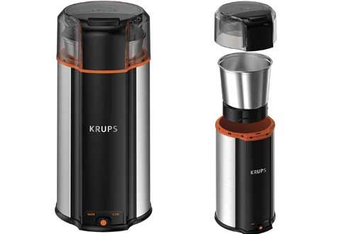 KRUPS GX336D50 Ultimate Super Silent 3 in 1 Blade Grinder for Spice
