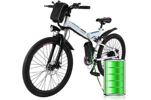 Electric Folding Mountain Bike