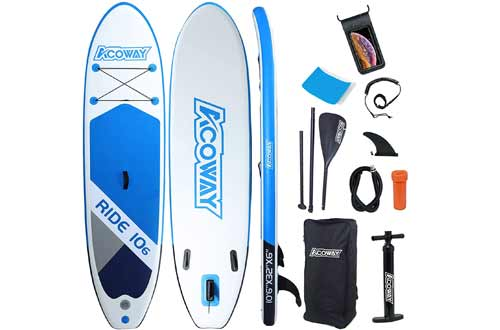 ACOWAY Inflatable Stand Up Paddle Board