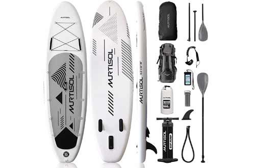 """Murtisol Pro 10.5'33""""6"""" Inflatable Paddle Board"""
