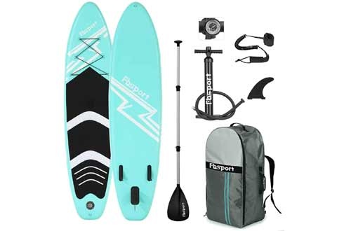 FBSPORT Premium Inflatable Stand Up Paddle Board
