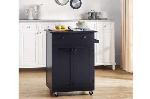 2L Lifestyle Newbury Wood Kitchen Cart