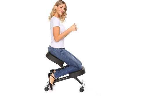 Plohee Ergonomic Kneeling Chair Adjustable Knee Stool