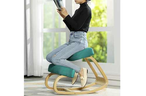 Posture Corrective Angled Seat Orthopedic Rocking Kneeling Chairs
