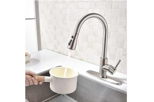 Pull-Down Kitchen Faucets