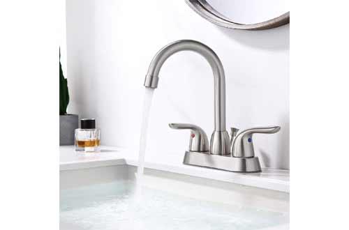 SOKA 2 Handle Bathroom Faucet Brushed Nickel