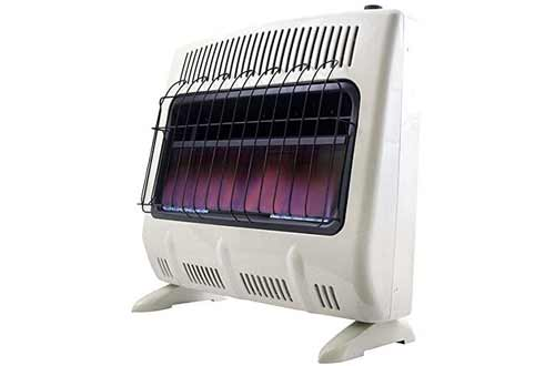 Mr. Heater 30K BTU NG Vent Free Blue Flame Heater with Built In Blower