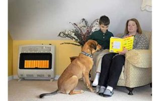 Vent-Free 30,000 BTU Radiant Natural Gas Heater