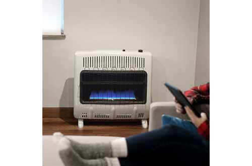 Mr. Heater 30,000 BTU Vent Free Blue Flame Natural Gas Heater