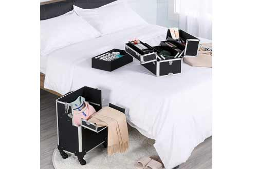 Professional Rolling Cosmetic Beauty Storage