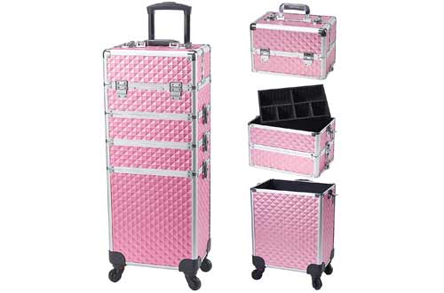 Large Storage Cosmetic Trolley 4 in 1