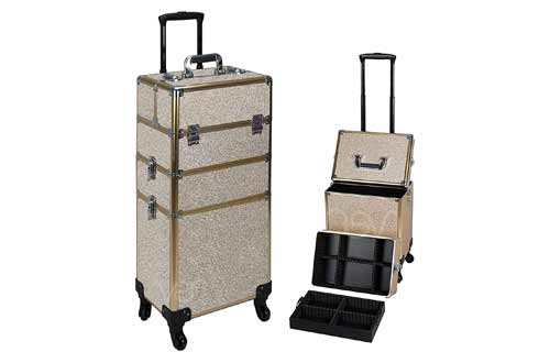 Ver Beauty Professional Rolling Makeup Case