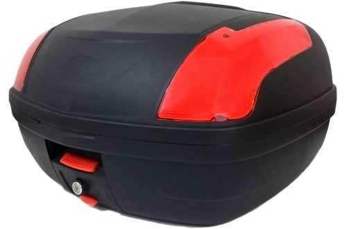 MMG Motorcycle Touring Large Top Box Tail Trunk Luggage Box