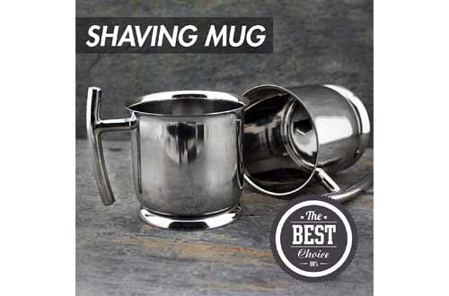Top Grade Stainless Steel Shaving Mug