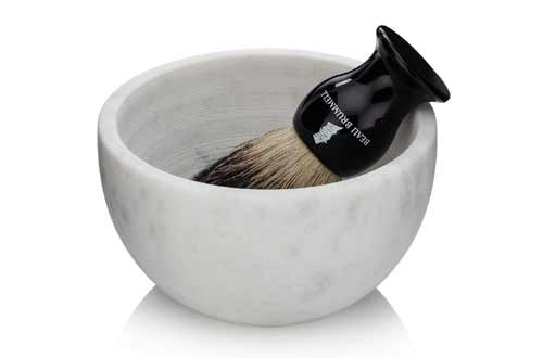 Solid Marble Shaving Soap Bowl