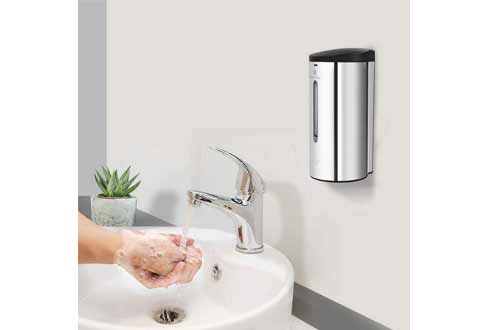 Hand-Free Soap Dispenser for Hospital and Other Public Area